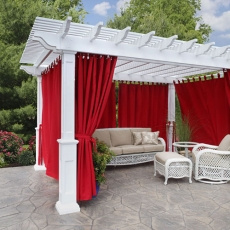 Why Choose a Vinyl Pergola Kit?