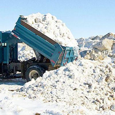 Snow Hauling Truck Service